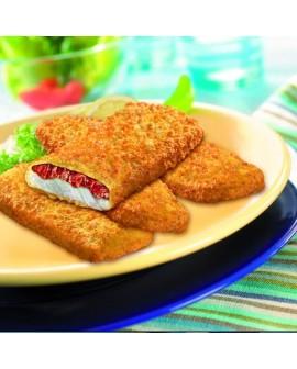Croccole di Merluzzo con Mozzarella e Pomodoro